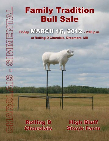 Family Tradition Bull Sale - Transcon Livestock Corporation