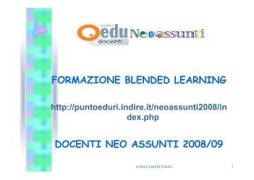 FORMAZIONE BLENDED LEARNING DOCENTI ... - USP di Piacenza