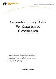 Generating Fuzzy Rules For Case-based Classification - Research