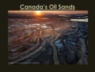 Canada's Oil Sands - Greening Hohenheim