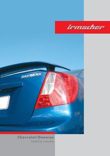 Chevrolet/Daewoo - Irmscher