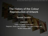 The History of the colour Reproduction of Artwork - CFPR at UWE ...