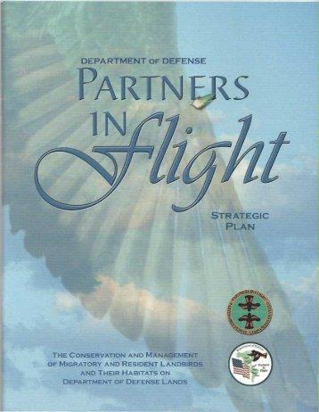 Complete Plan - DoD Partners in Flight