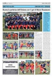 CMB SAN VITO - ORSIANA (allievi) - SPORTquotidiano