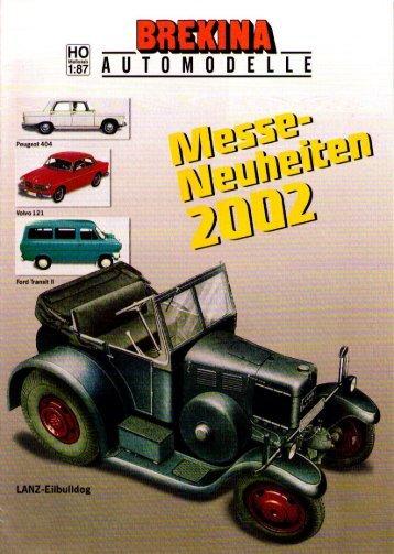 2002New - Modellismo ferroviario