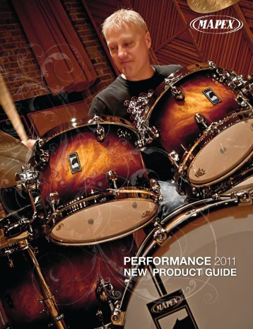 Mapex Drums New Product Guide
