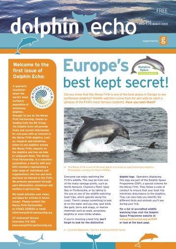 Dolphins - Moray Firth Partnership