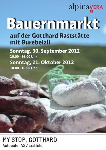 Bauernmarkt - my stop. gotthard