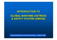introduction to global maritime distress & safety system ... - Iho-ohi.net