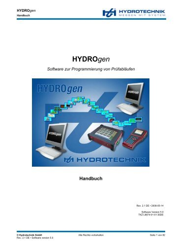 HYDROgen - Hydrotechnik
