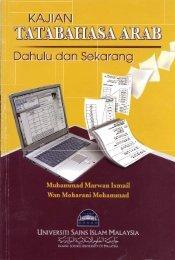 Kajian Tatabahasa Arab Dulu dan Sekarang2.pdf - USIM - Universiti ...