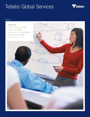Tellabs Global Services Catalog, Issue 4