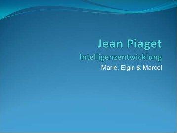 Jean Piaget Intelligenzentwicklung - Ploecher.de