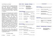 10. Ostseesymposium Onkologie - Hämatologie und Onkologie ...