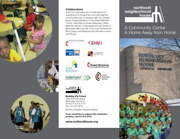 Northcott Neighborhood House Brochure - Wisconsin Conference ...