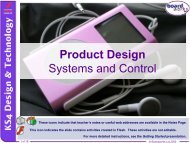 Systems and Control - Kingsdown School