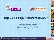 presentation Lütger Landwehr - digicult-sh.de