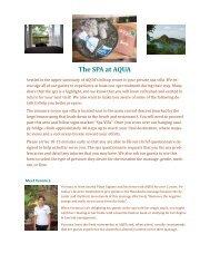 The SPA at AQUA - Aqua Nicaragua