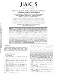 Probing the Electronic Stability of Multiply Charged Anions ...