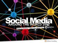 Social Media around the World 2012 - InSites Consulting