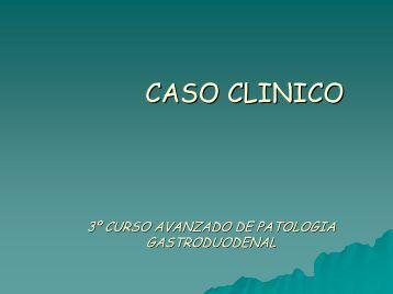 Caso Clínico N° 1 - caded
