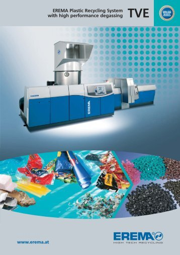 "to download ""TVE Recycling Extruders"" .pdf file - Extrusionauxiliary ..."