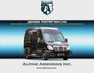 ARMORED POINTER® SWAT VAN - Alpine Armoring Inc.