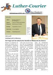 Download Luther-Courier - Luther-Akademie > Start