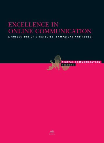 ExcEllEncE in OnlinE cOmmunicatiOn - Digital Communication ...