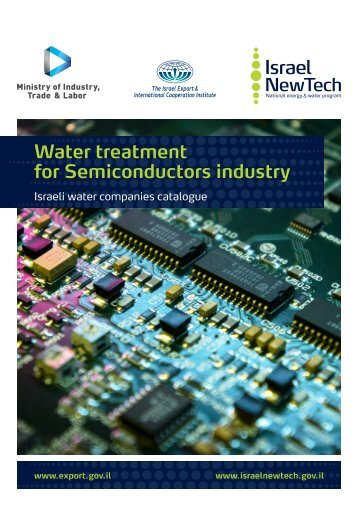 Water treatment for Semiconductors industry