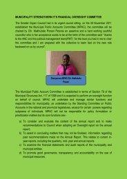 ESTABLISHMENT OF MPAC.pdf - Giyani Municipality
