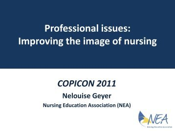 Professional issues: Improving the image of nursing