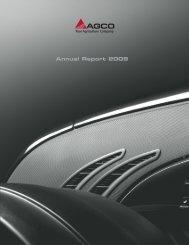 2009 AGCO Annual Report