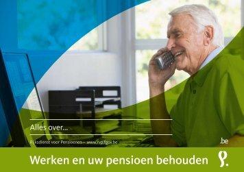 Werken en uw pensioen behouden