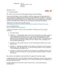 2013 OGE Projected ATRR - acrobat - OGE Energy Corp.