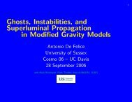 Ghosts and physical degrees of freedom in Modified Gravity Models