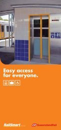 Easy access for everyone. - Queensland Rail