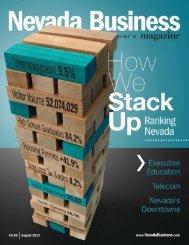 Nevada Business Magazine ..... August 2013 - Boyd Company
