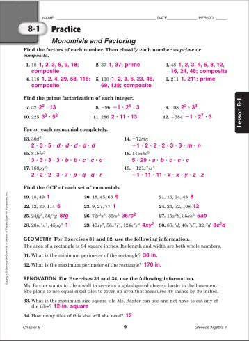 Holt mathematics course 3 homework and practice workbook