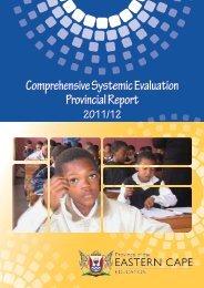 Systemic Evaluation Report 2011-12 - Ecexams.co.za