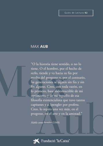 """MAX AUB - Obra Social """"la Caixa"""""""