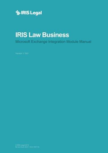MS Exchange Integration Manual