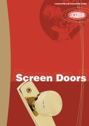 Screen Doors - Hardware Direct
