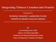 Smoking Cessation Leadership Center