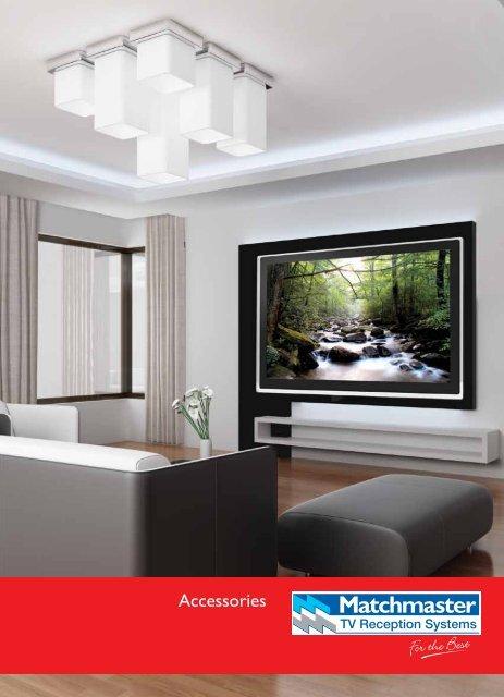 Custom White Bullnose AV Home Theatre Wall Plate In Cable Management