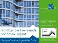 Schützen Sie Ihre Fassade vor bösen Folgen! - flowRelations