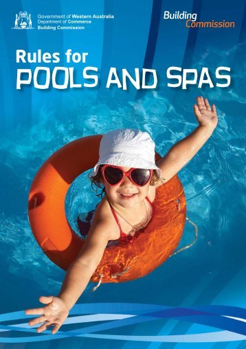 Rules for Pools and Spas - Building Commission