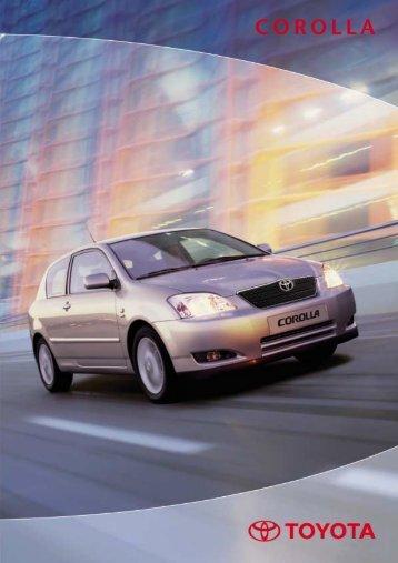 Toyota Corolla 03/2002
