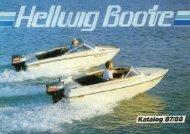 Gesamtkatalog 1985/86 - Hellwig Boote