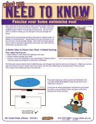 Fencing your home swimming pool